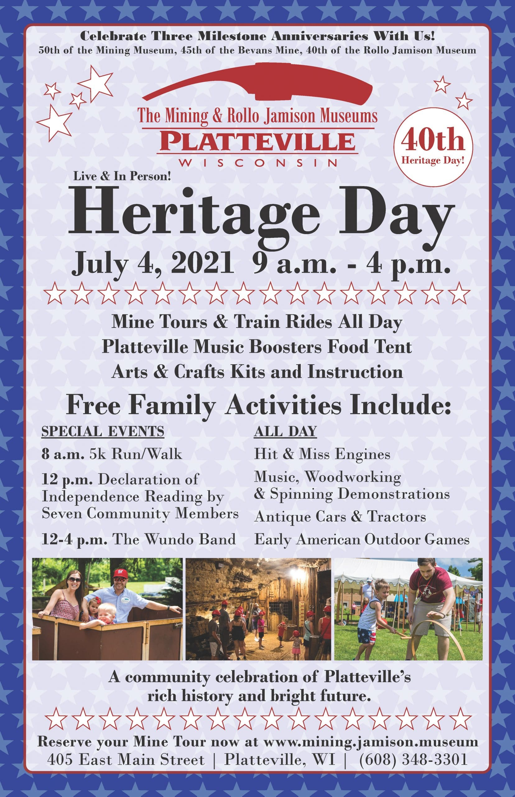 2021 heritage day poster in house