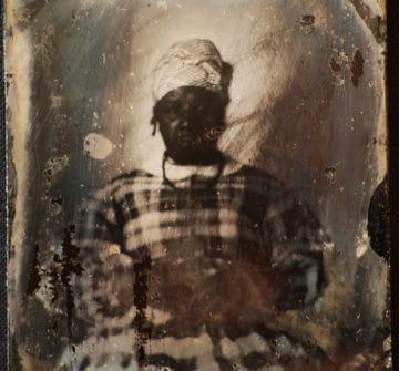 Portrait of America Jenkins.  Ambrotype, circa 1857.  Grant County Historical Society, Lancaster, Wisconsin