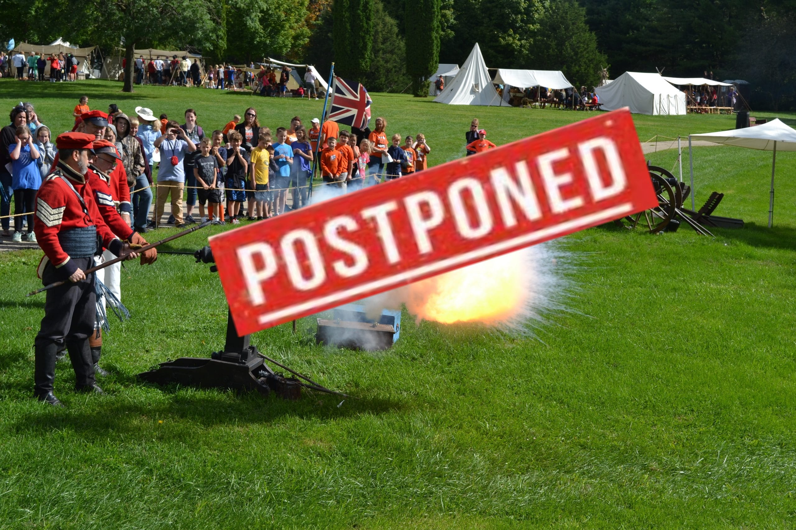 Prairie du Chien Militia postponed