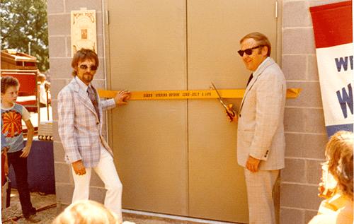 Ribbon Cutting 1976 small