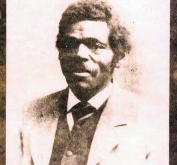 James Williams, courtesy of the Iowa County Historical Society.